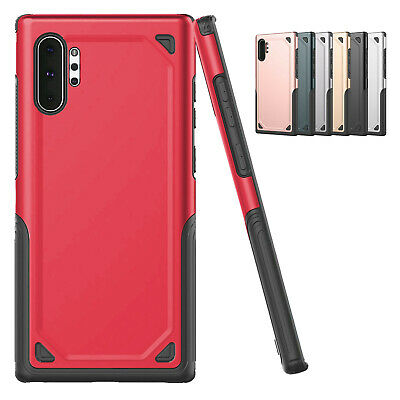 For Samsung Galaxy Note 10 Plus Shockproof Hybrid Rugged Armor Hard Case Cover