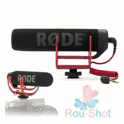 Rode VideoMic Go Video Camera Microphone Shoe Mount for Canon Nikon Sony