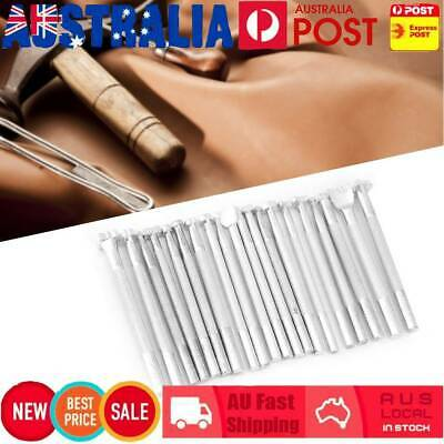 20pcs Set Leather Working Saddle Making Tools Carving Leather Craft Stamps
