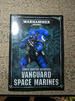 Warhammer 40k Shadowspear Codex Vanguard GW Space Marine Adeptus Astartes