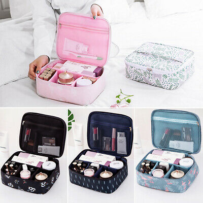 Back To School Travel Cosmetic Makeup Bag Toiletry Case Portable Hanging Pouch