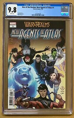 War of the Realms New Agents of Atlas #1 CGC 9.8 BILLY Tan COVER * FAST SHIPPING