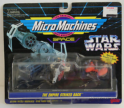 Star Wars 1994 Micro Machines 3 Pack Sealed StoreTag 65860 Collection 5 - ESB