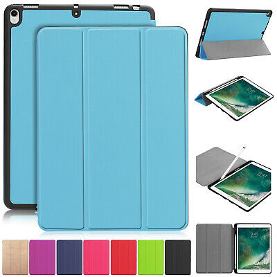For iPad Air 2019 3rd Gen 10.5 Pro Case Smart Leather Flip Slim Folding Cover