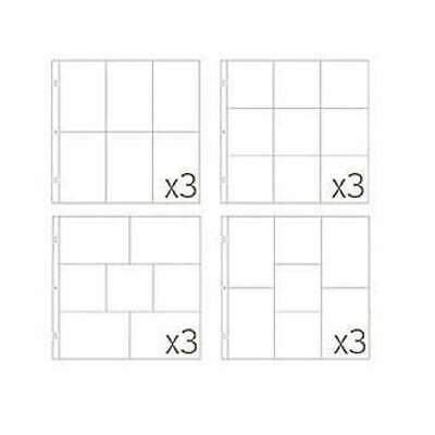 Becky Higgins - Project Life Photo Pocket Pages 12 Pack  Small Variety Pack 4...