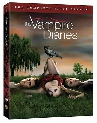 The Vampire Diaries : The Complete First Season (DVD, 2010, 5-Disc Set)