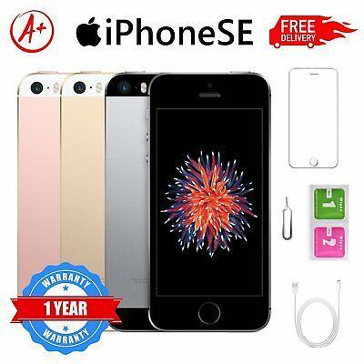 Apple iPhone SE 64GB Space Grey Rose Gold Silver Unlocked Smartphone AU