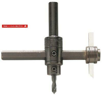 General Tools 55 Heavy Duty Circle Cutter. Adjustable 1-3/4 Inch To 7-7/8 Inch