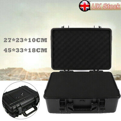 Protective Equipment Hard Carry Case Plastic Box Camera Travel Protector +Sponge