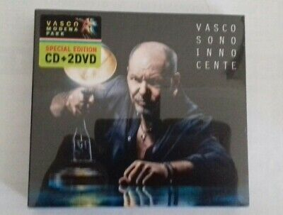 "Vasco Rossi ""Sono Innocente/Modena Park Edition"" 1 Cd + 2 Dvd"