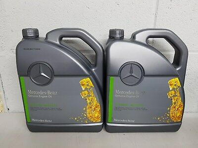 10L Genuine MercedesBenz 5W30 Low Ash SAPS Engine Oil MB 229.51 Fully Synthetic