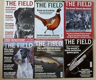 THE FIELD Magazine - 12 copies Jan to Dec 2014