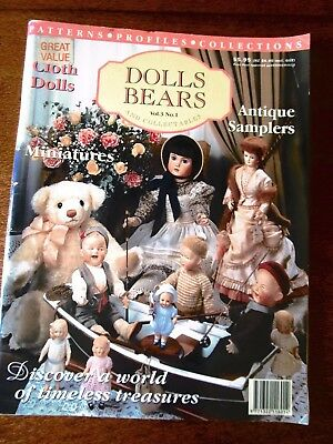 Dolls & Bears Magazine Vol.3 No.1