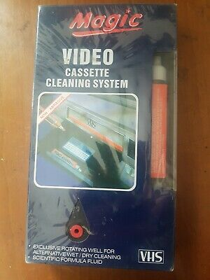 Magic Video Cassette Cleaning System