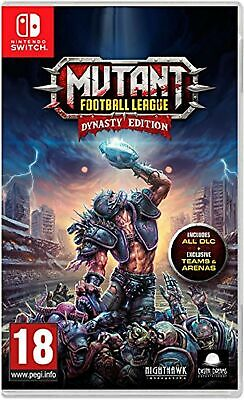 Mutant Football League Dynasty Edition (Nintendo Switch) New Sealed