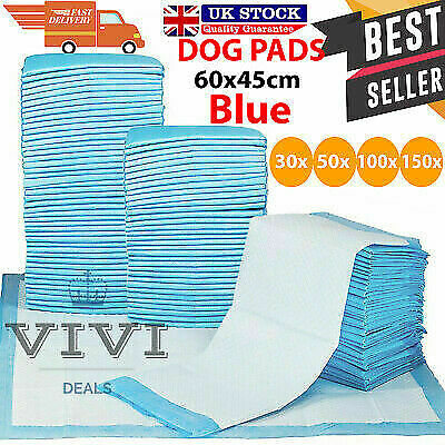 50/100/150/200 60X45Cm Large Puppy Training Pads Toilet Pee Wee Mats Cat Pet Dog