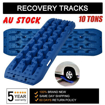 2 PCS Traction Tracks 10 Ton 4X4 Off Road Recovery for Snow Sand Mud Track Tire