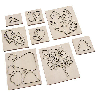Xmas Tree Leaf leather cutter die DIY leaves punch paper cut mold rule keychain