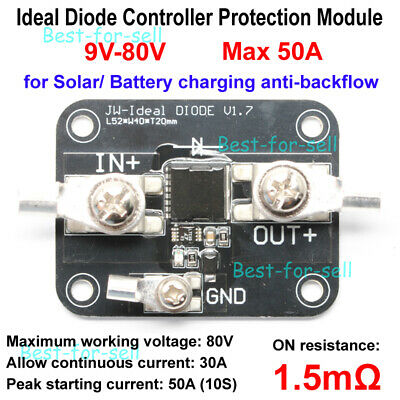 Battery Charging Anti Reverse Irrigation Module UQ 15A Ideal Diode Solar Panel