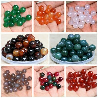 Spacer Craft Round Natural Stones Jewelry Accessories 4mm Gemstone Loose Beads