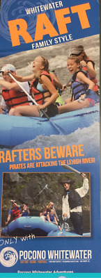 Great Deal !!! 4 Poconos Whitewater rafting Tickets for $210 ( value of $288 )
