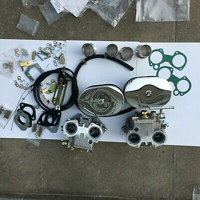 FAJS Dual carb 40DCOE Replace Weber Carburettor kit for VW TOYOTA BMW Golf Benz.