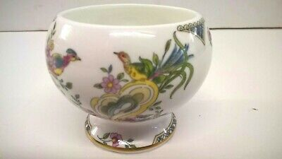 Coalport - Paradise Design - Small Footed Posy Vase / Pot.