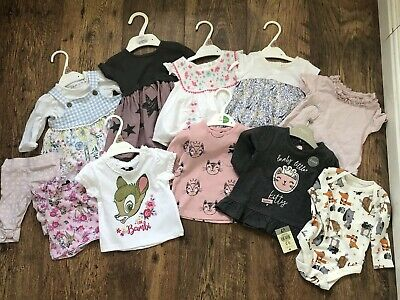 Baby Girl 0-3 Months Clothing Bundle