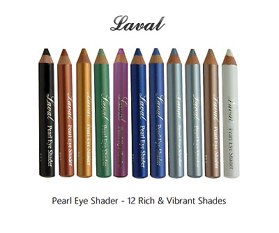 Laval Pearl Eye Shader Eye Shadow Pencil - Choose from 12 Rich & Vibrant Colours