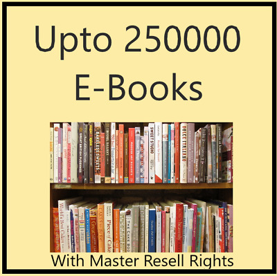 eBooks Package Collection PDF Format  with Master Resell Rights Free shipping