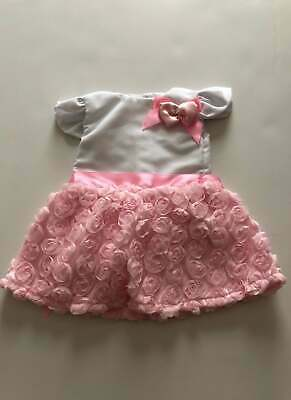 Pink Carnation Dress for American Girl Dolls 18 Inch Doll Clothes