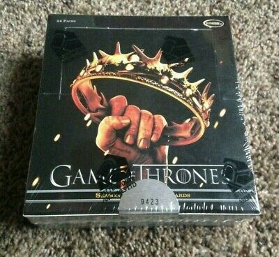 2013 Rittenhouse House Game Of Thrones Season 2 Hobby Box Sealed Rare Inflexions