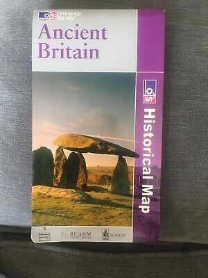 Ordnance Survey Ancient Britain Historical Map 2005, North & South Sheet