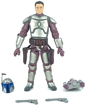 Star Wars: The Legacy Collection 2009 Target JANGO FETT (GEONOSIS ARENA) - Loose