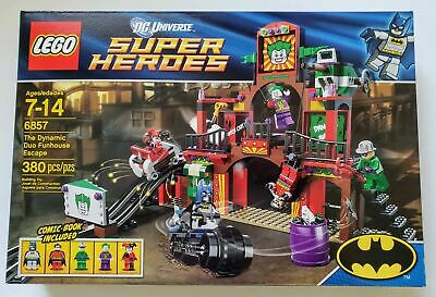 LEGO DC Universe Super Heroes The Dynamic Duo Funhouse Escape 6857
