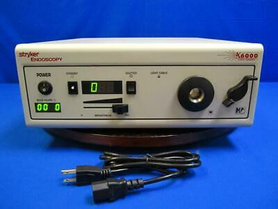 Stryker X6000 Endoscopy Light Source REF 220-185-000 450W