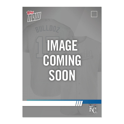 2019 Topps NOW Player's Weekend Nicky Lopez Kansas City Royals