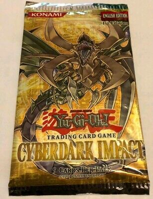 Yu-Gi-Oh 1St Edition Cyberdark Impact Cdip - Sealed Booster Pack