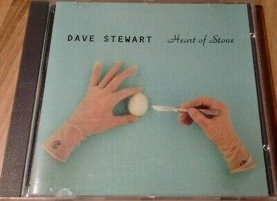 Dave Stewart (from Eurythmics) 'Heart Of Stone' 3 Track CD Single (1994)