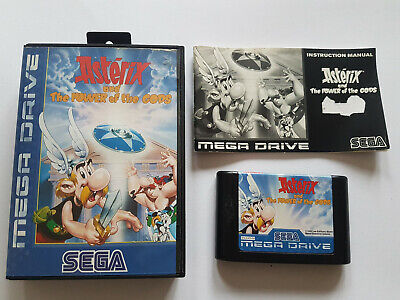 Asterix and the power of the Gods !! Neuwertig ! Sega Mega Drive Anleitung + OVP