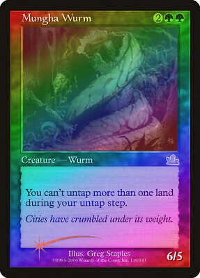 Vitalizing Wind Prophecy HEAVILY PLD Green Rare MAGIC GATHERING CARD ABUGames