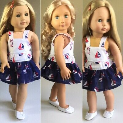 """Fit American Girl Our Generation Dress ONLY 18"""" Doll Clothes."""
