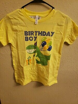 Birthday boy Dinosaurs Shirt  6T NEW WITHOUT TAGS