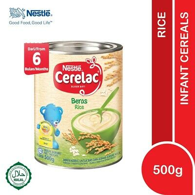 Nestlé CERELAC Baby Cereal Rice 500g HALAL FREE SHIPPING