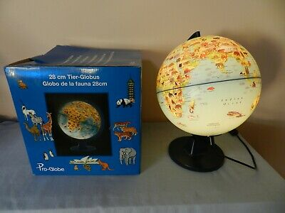 Light up World Globe Animals and Countries New in Box