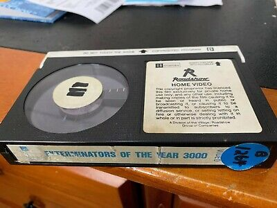 EXTERMINATORS OF THE YEAR 3000 Beta Betamax Tape Only Rare