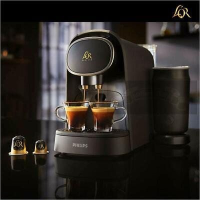 LM8018/90 with Milk Frother L'or Philips Barista Premium Capsule Coffee Machine