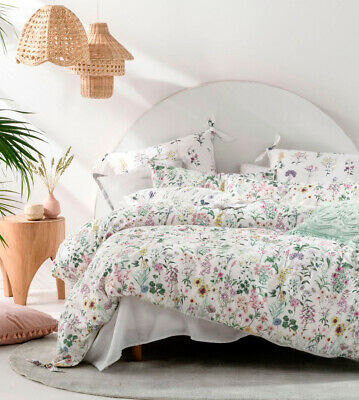 NEW Linen House Louisiana Quilt Cover Set100/% CottonQueen King Super King