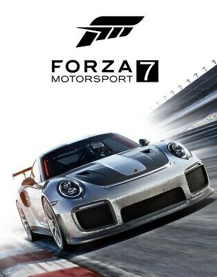 Forza Motorsport 7 Poster Picture Game Photo Print (A1/A2) Art PS4 Xbox One PC