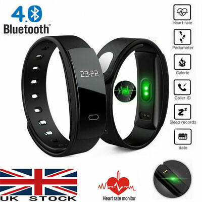 Smart Monitor Watch Blood Sport Bracelet Rate Pressure Tracker Heart Fitness New